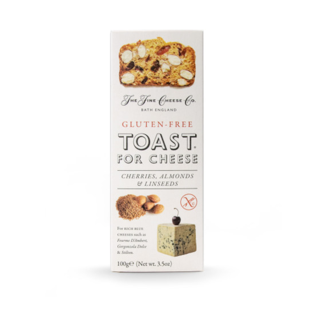 Toast for Cheese GLUTEN-FREE Cherries, Almonds, Linseeds (3.5 oz)
