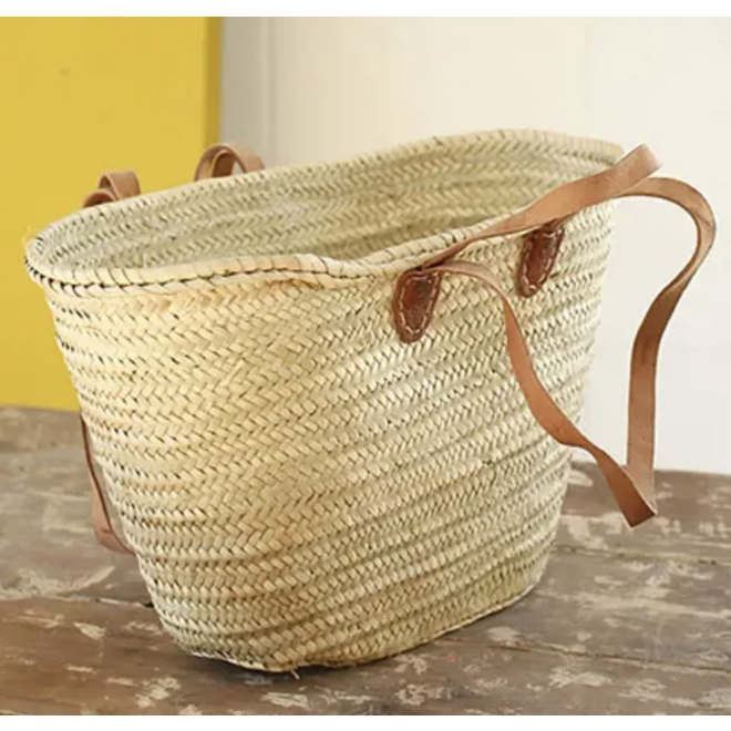 French Market Basket / Made in Morocco