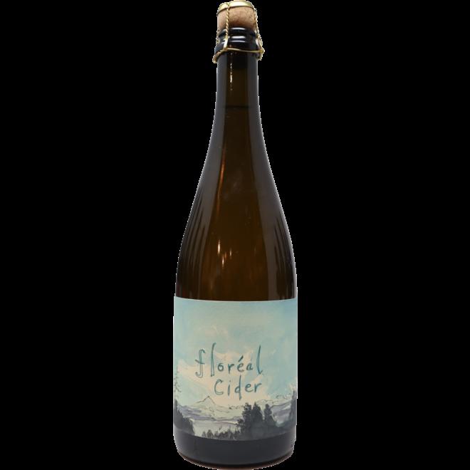 NV Hiyu Wine Farm ''Floréal'' Cider, Hood River Valley, Oregon