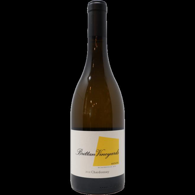 2018 Brittan Estate Chardonnay, McMinnville, Oregon