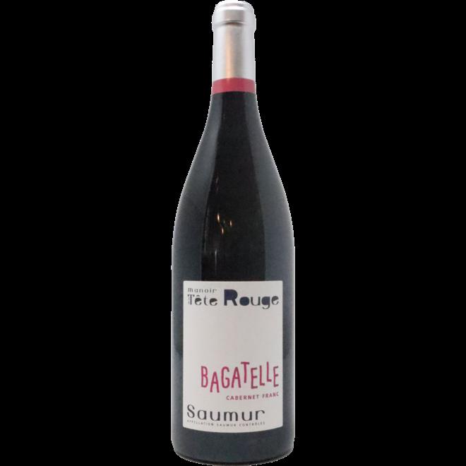 """2019 Manoir de la Tete Rouge """"Bagatelle"""" Saumur Rouge, Loire Valley, France"""