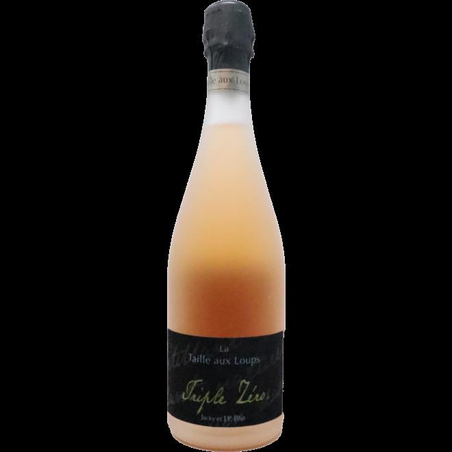 """NV Domaine de la Taille aux Loups Montlouis sur Loire Rosé """"Triple Zero"""", Loire Valley, France"""