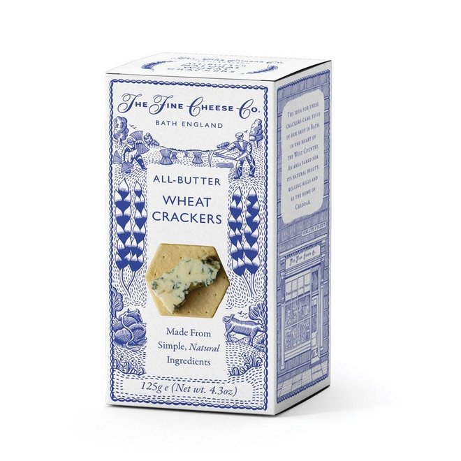Fine Cheese Co. All Butter Wheat Crackers (4.4oz)