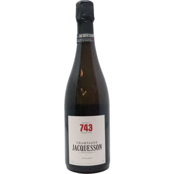NV Jacquesson Extra Brut Cuvee 743, Champagne, France