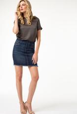Liverpool Cat eye pocket pull-on skirt