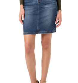 Liverpool Darted skirt