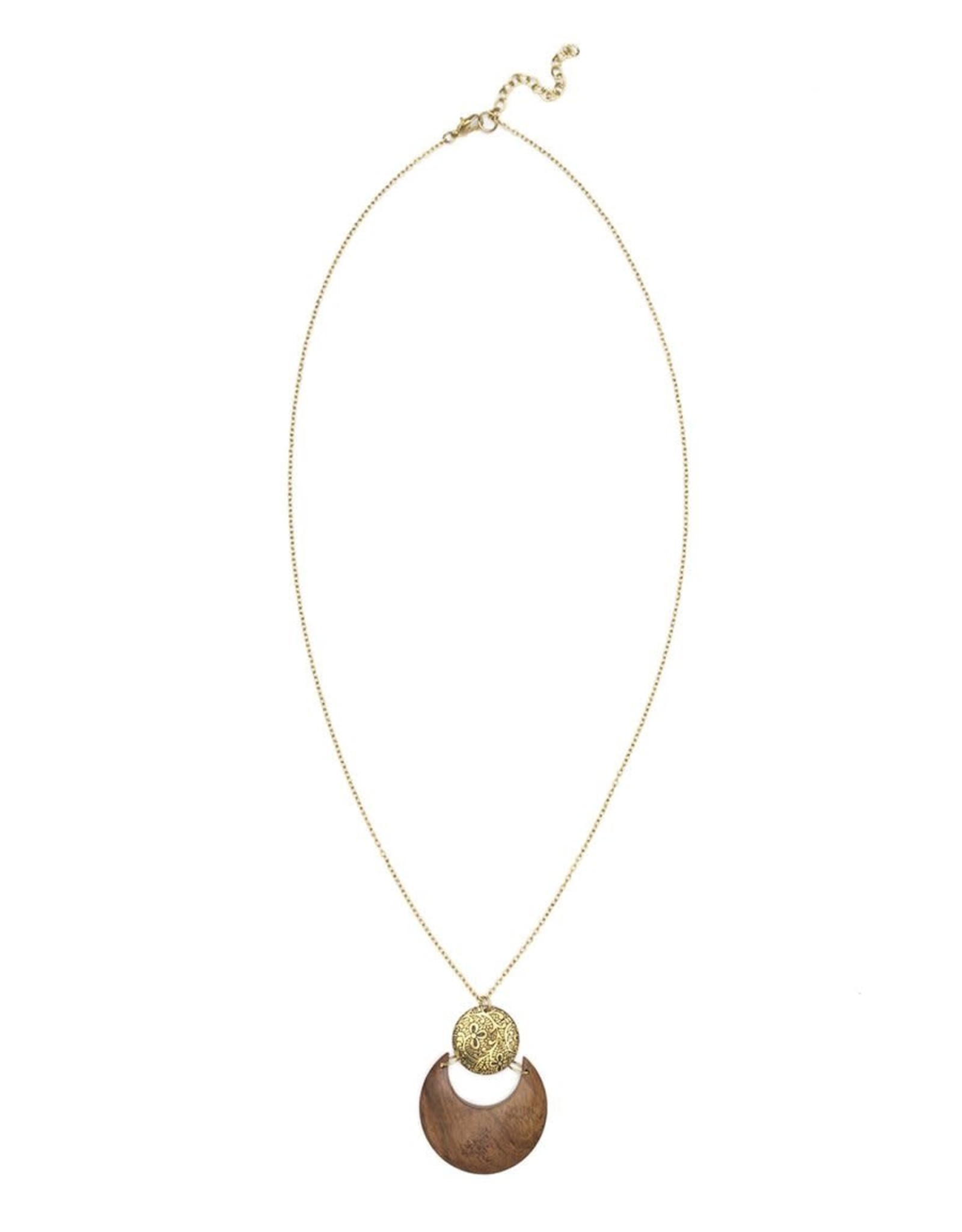 Matr Boomie Earth and Fire necklace- lunar