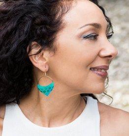 Matr Boomie Jaladhi earrings- Mermaid