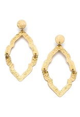 Matr Boomie Nihira Ashram Window earring- gold