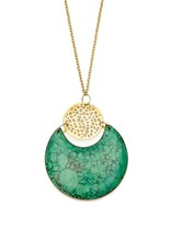 Matr Boomie Tara Stone necklace crescent