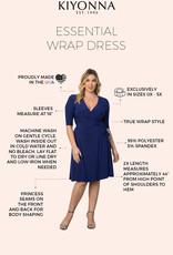 Kiyonna Essential Wrap Dress