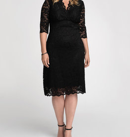 Kiyonna Scalloped Boudoir Dress