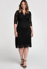 Kiyonna Scalloped Boudoir Dress