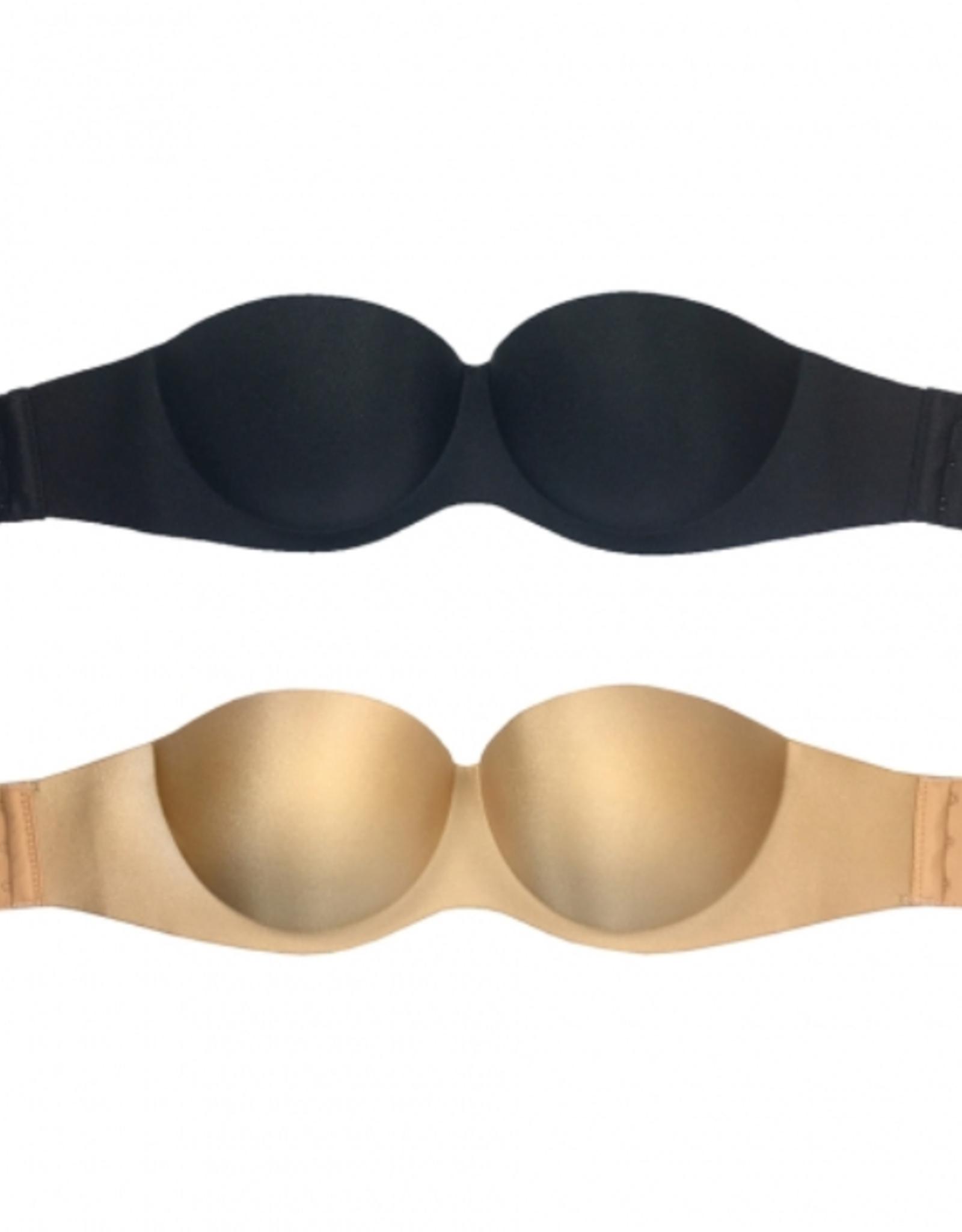 Strapless bra