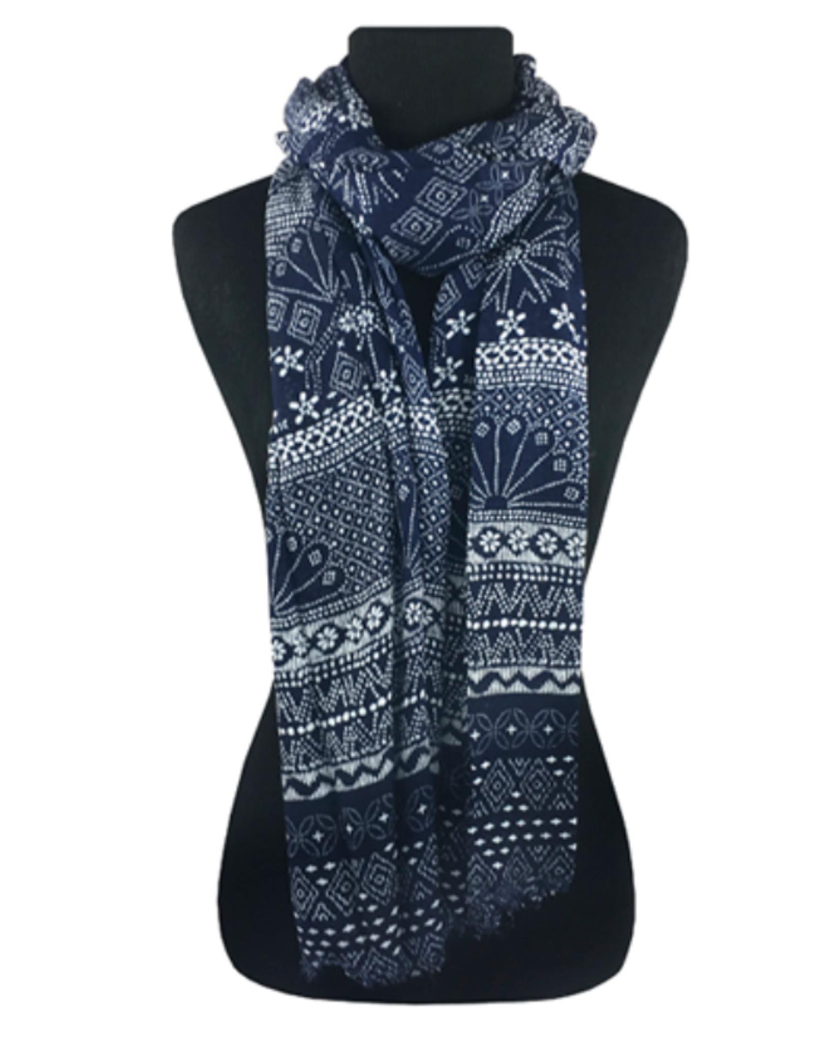Snowfall scarf