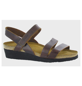 NAOT Kayla sandal buffalo leather