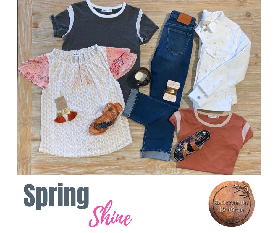 Spring Shine Flatlay
