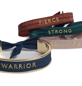 Banded Warrior hair tie bracelet