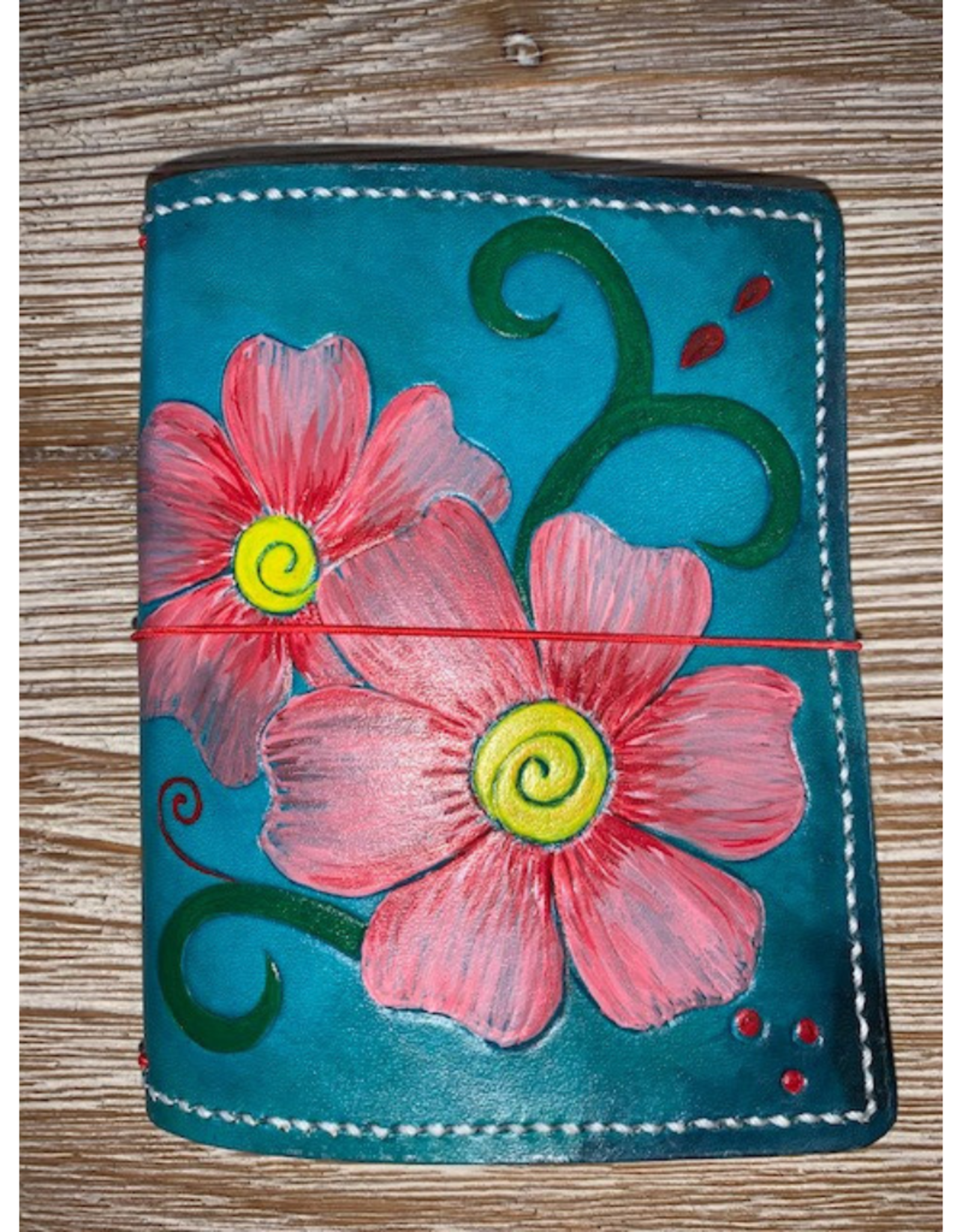 One of a kind medium leather wallet