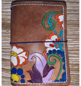 One of a kind small leather wallet