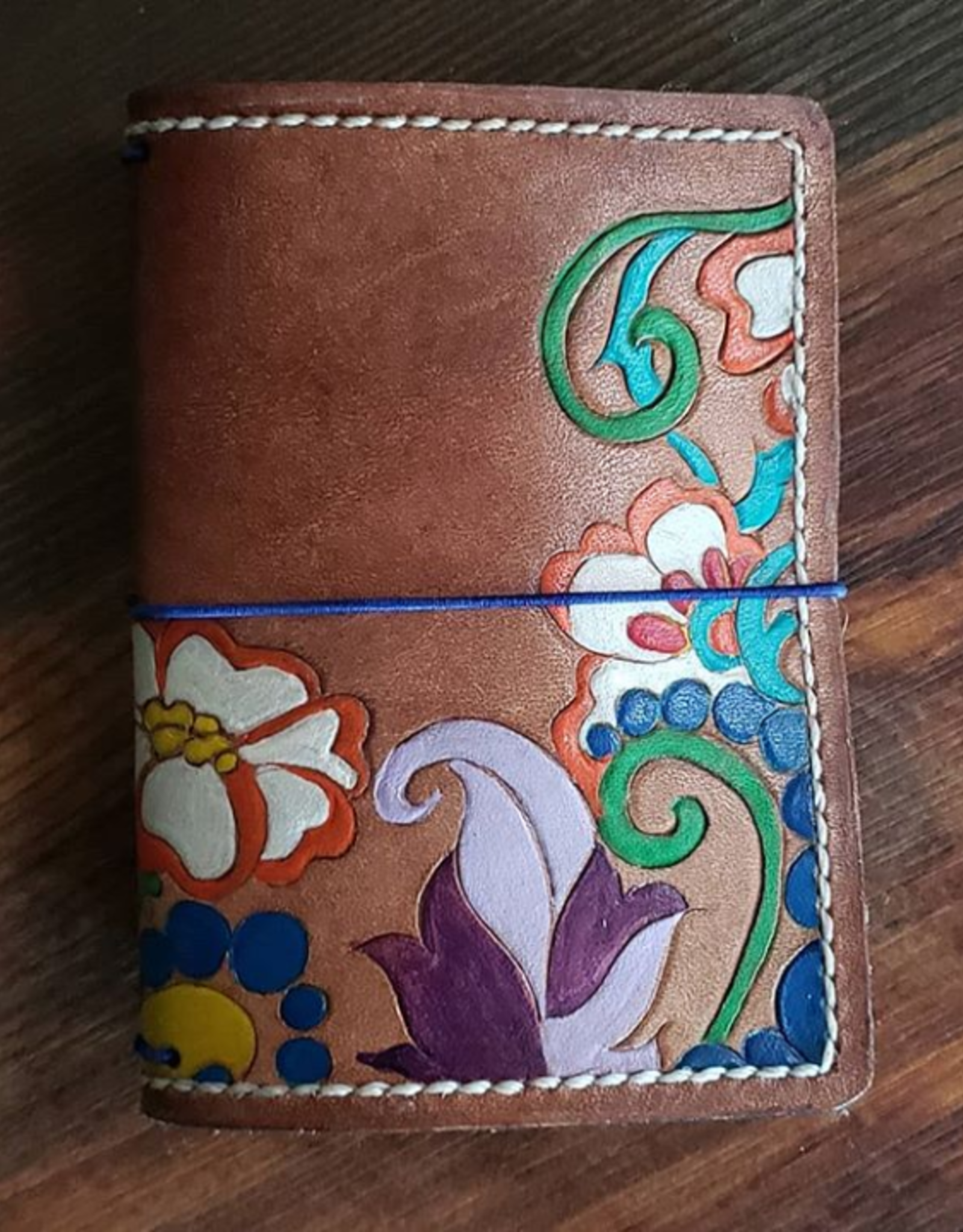 Copy of One of a kind small leather wallet