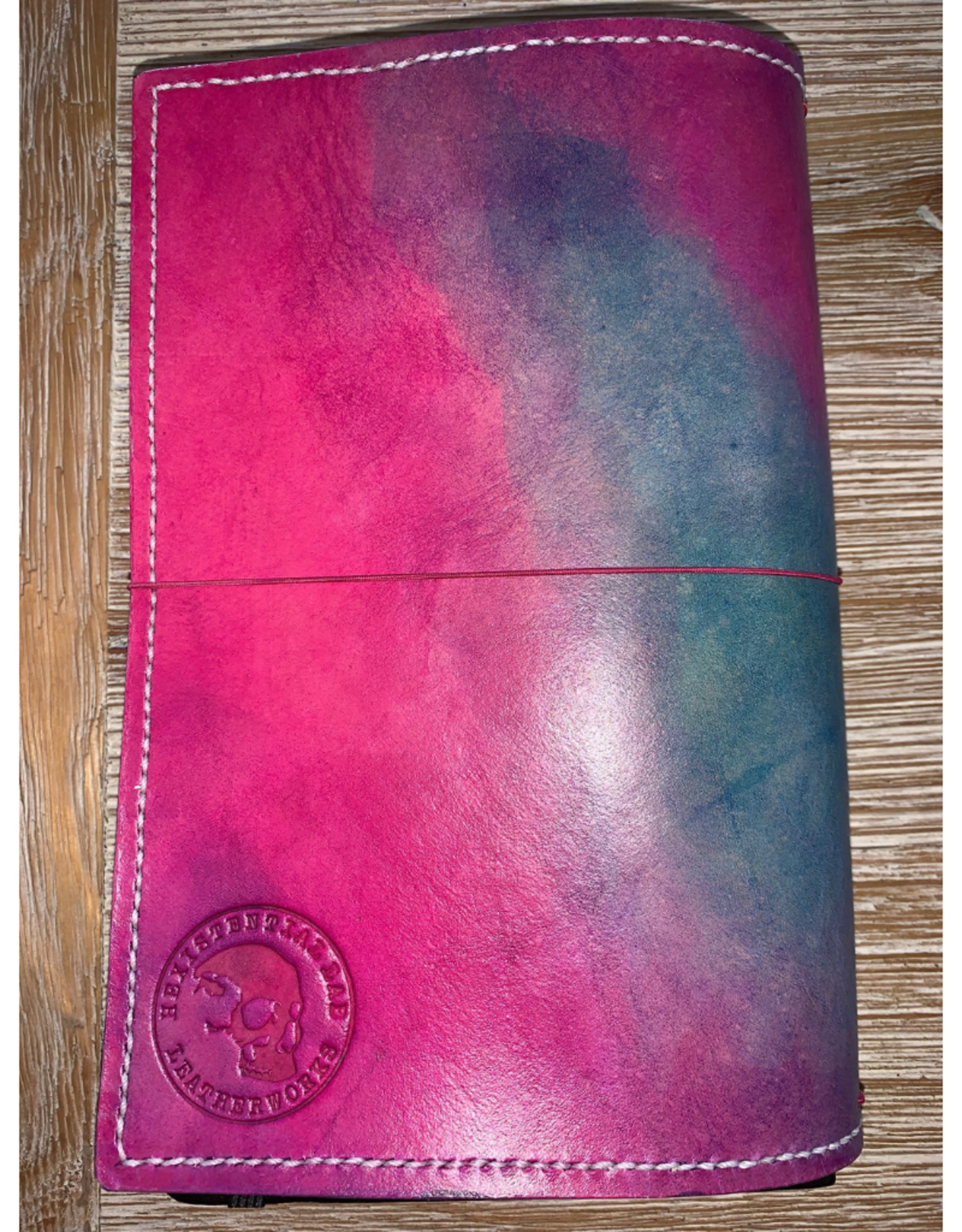 One of a kind leather journal