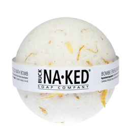 Buck Naked Bath Bomb- Energizing Marigold
