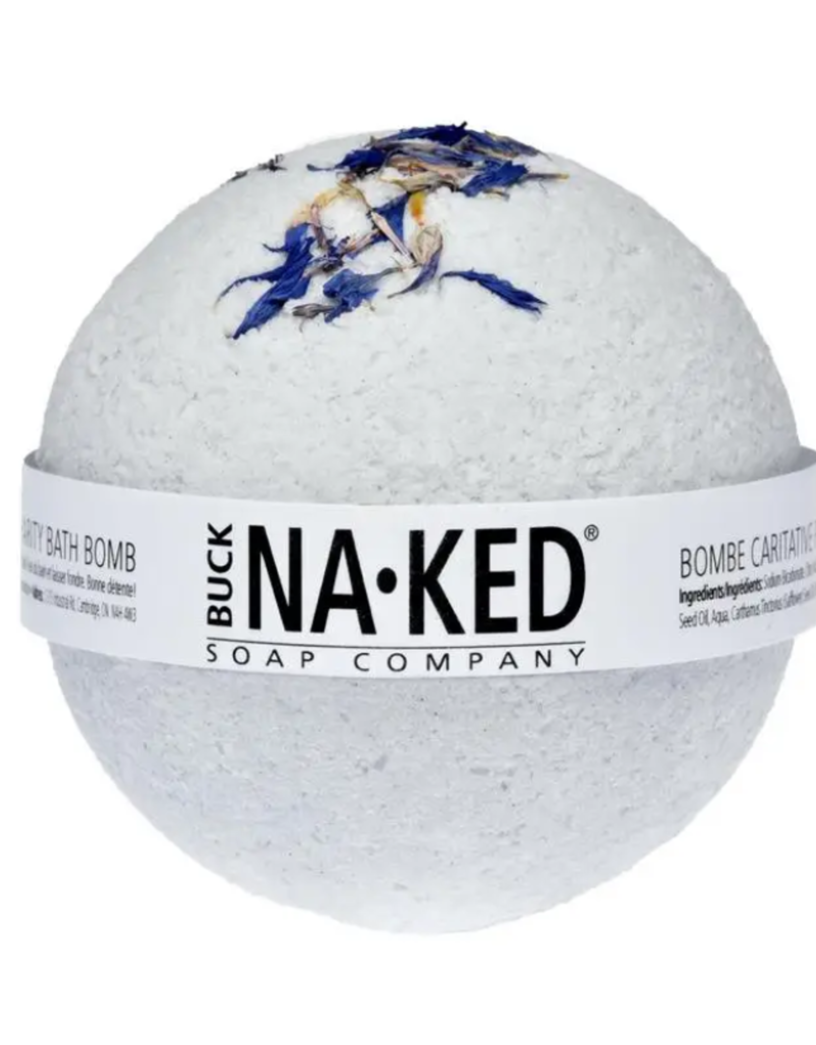Buck Naked Bath Bomb- Indigo