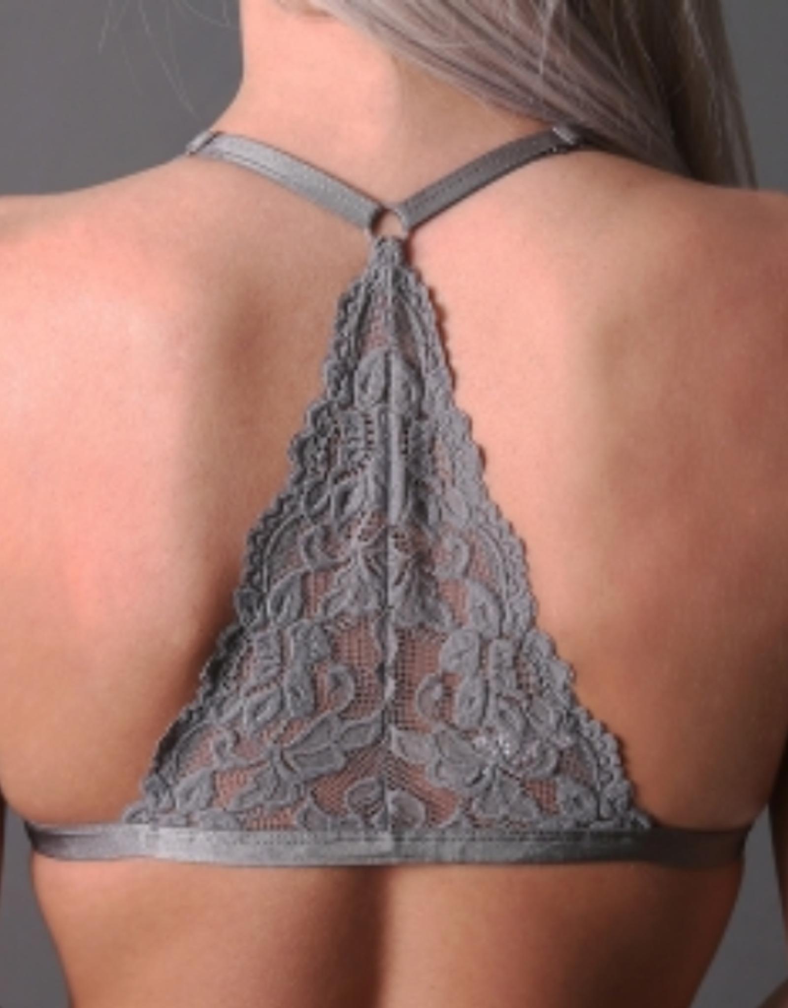 Undie Couture Triangle racerback bralette (28A-32D)