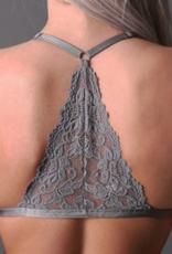 Undie Couture Triangle racerback bralette (36A-38D)