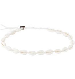 Lotus & Luna Shell choker/ double wrap bracelet