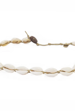Shell choker/ double wrap bracelet