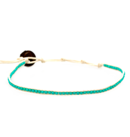 Lotus & Luna Seedbeed anklet- 10453