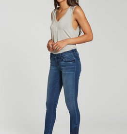 Dear John Gisele high-waisted fringed hem