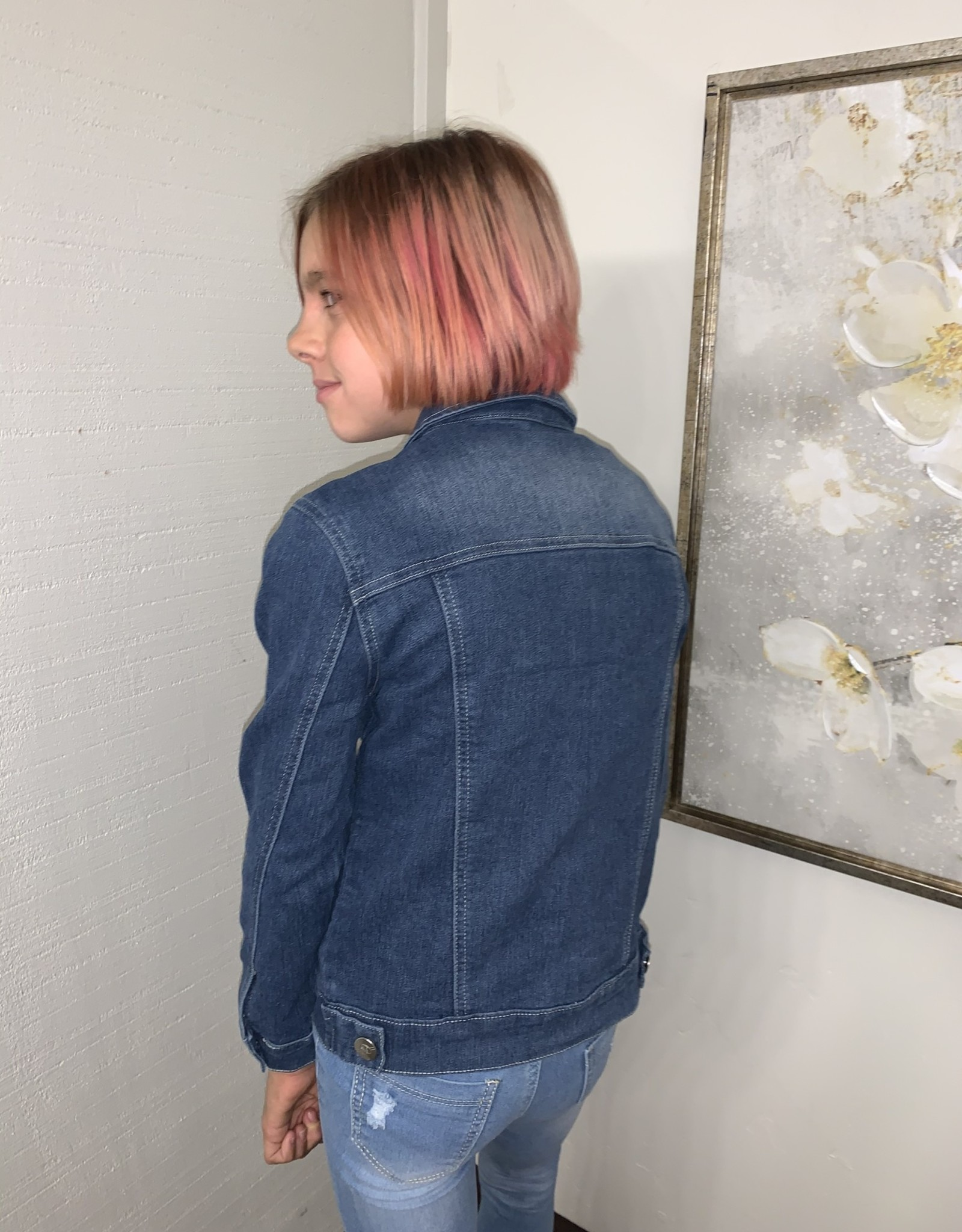 Pink Latte Basic Denim jacket
