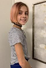 Cutie Patootie Crochet peasant blouse