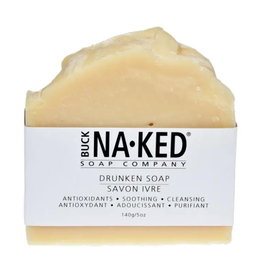 Buck Naked Drunken Soap