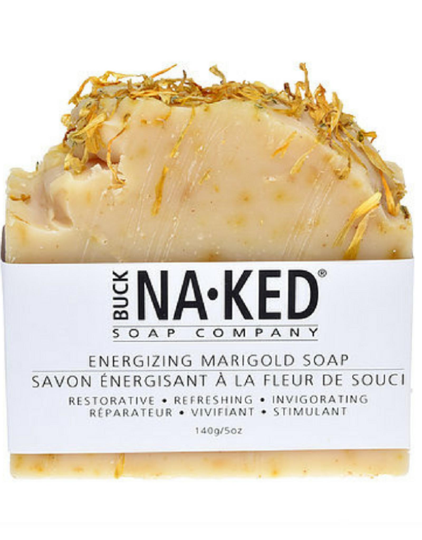 Buck Naked Energizing Marigold Soap