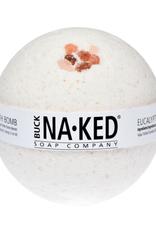 Buck Naked Eucalyptus & Himalayan salt bath bomb