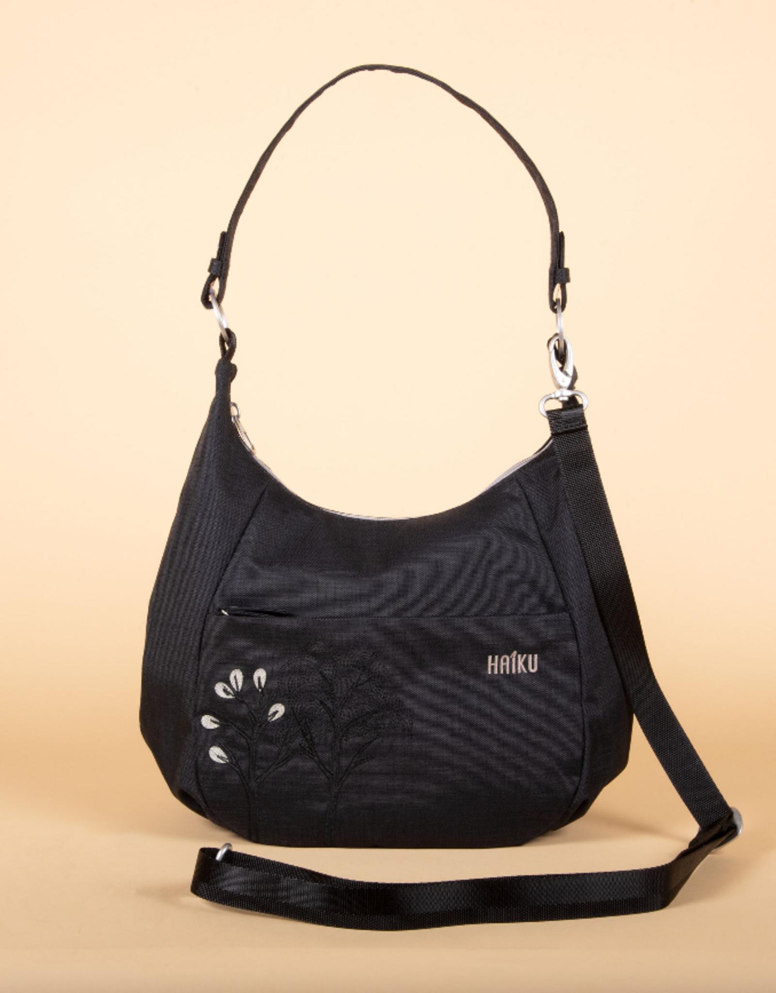 Amble Hobo bag-  Black Morel