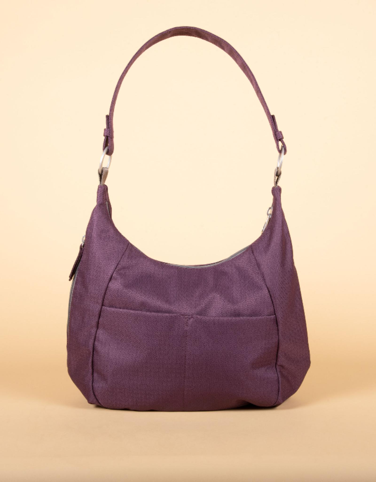Amble Hobo bag-  Blackberry