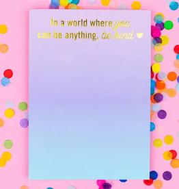 Taylor Elliott Be Kind magnetic notepad