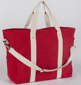 ShoreBags Edgewater Duffel- Red