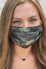 Salt and Palms Camo face mask