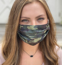 Salt and Palms Camo face mask