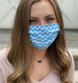 Salt and Palms Chevron face mask