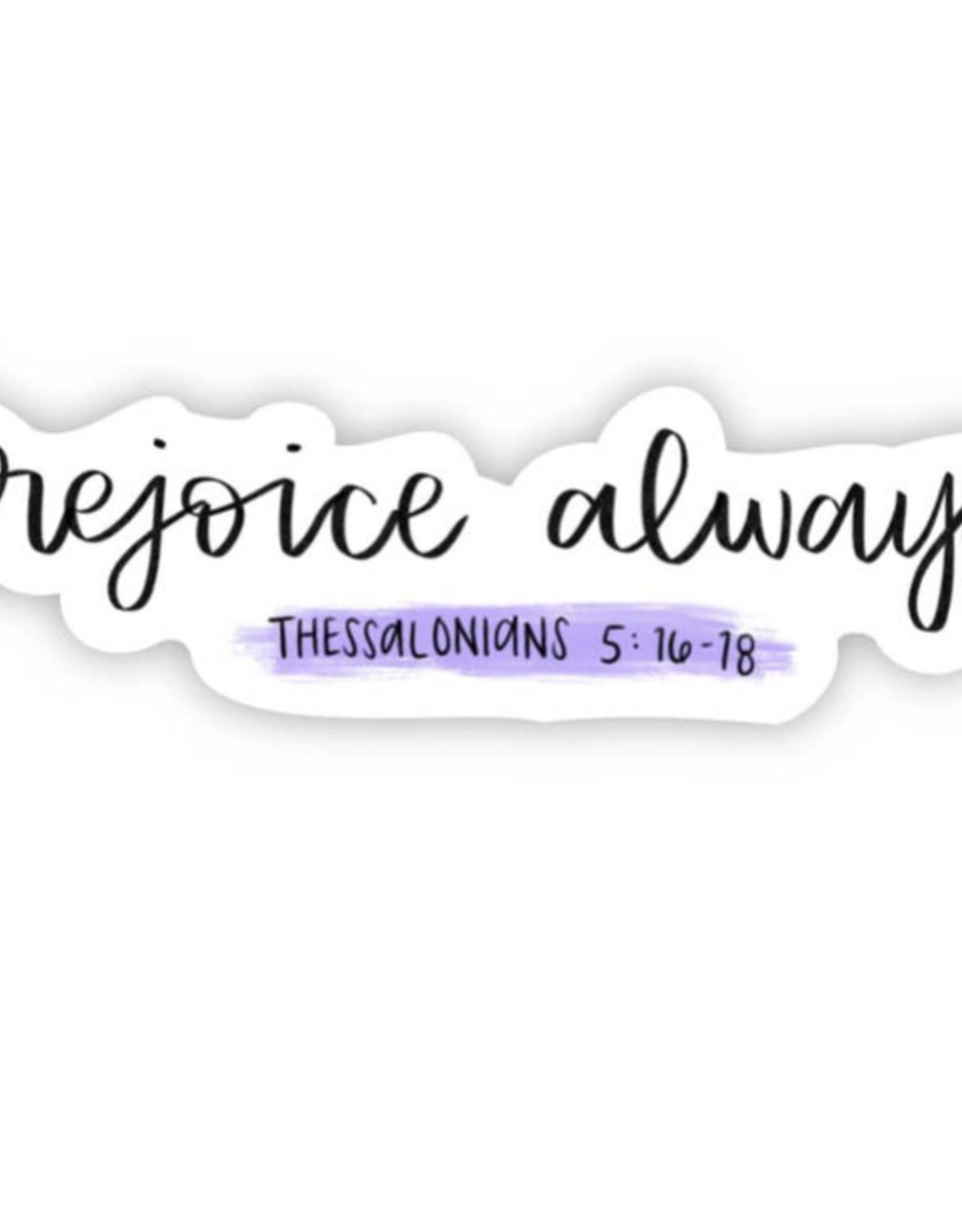 Big Moods Thessalonians 5:16-18 sticker