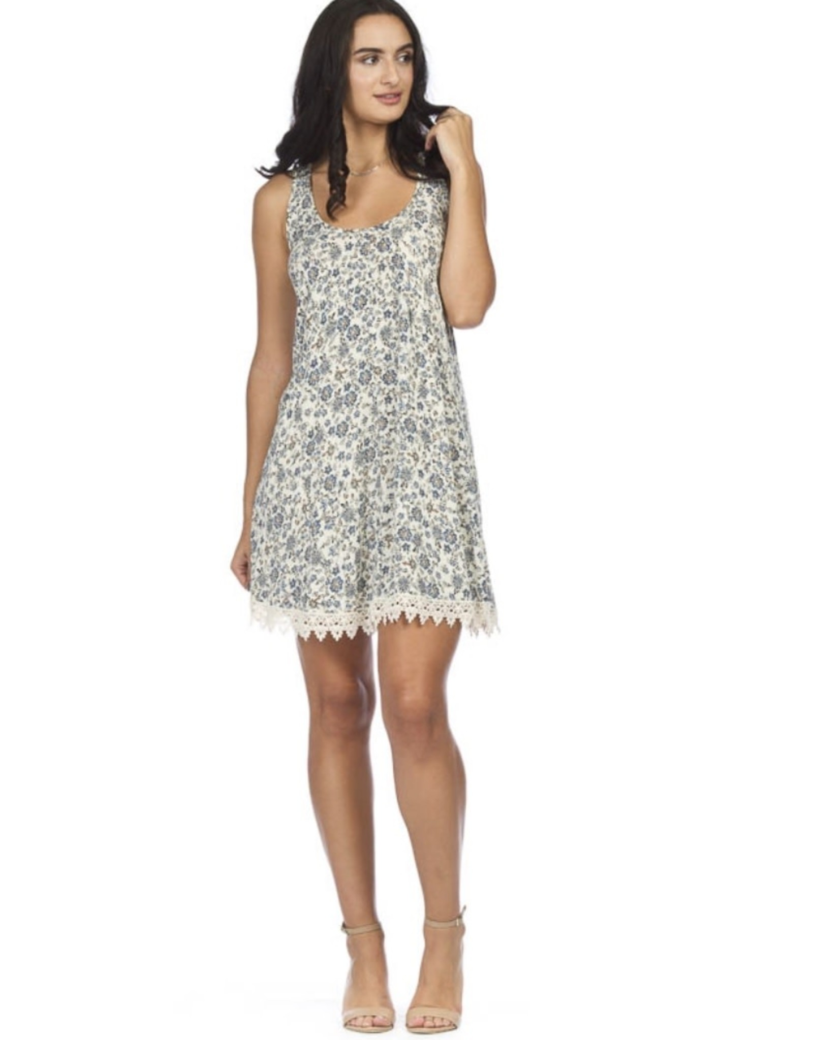 A-Line with lace dress
