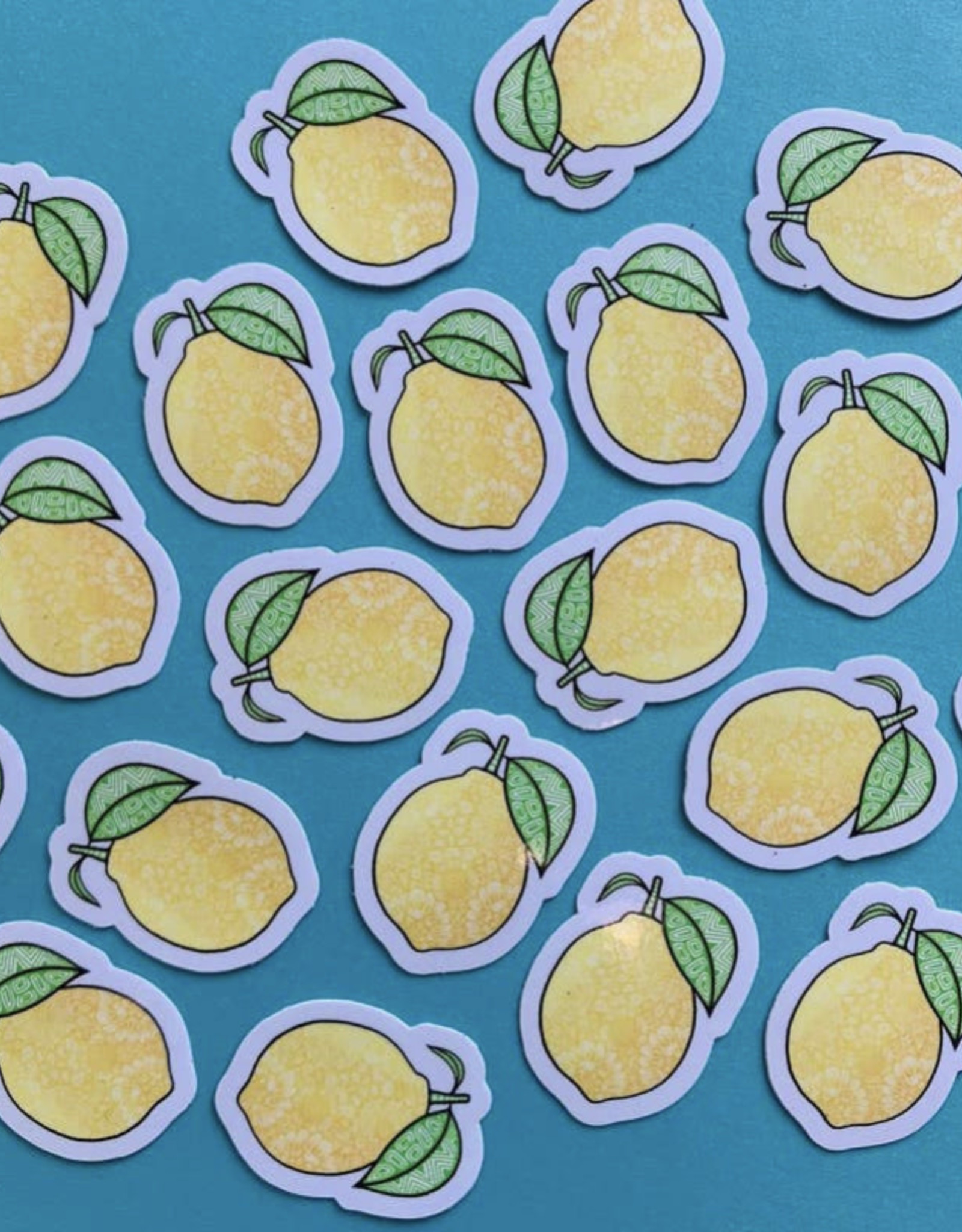 Mini Lemon Sticker (ms3)