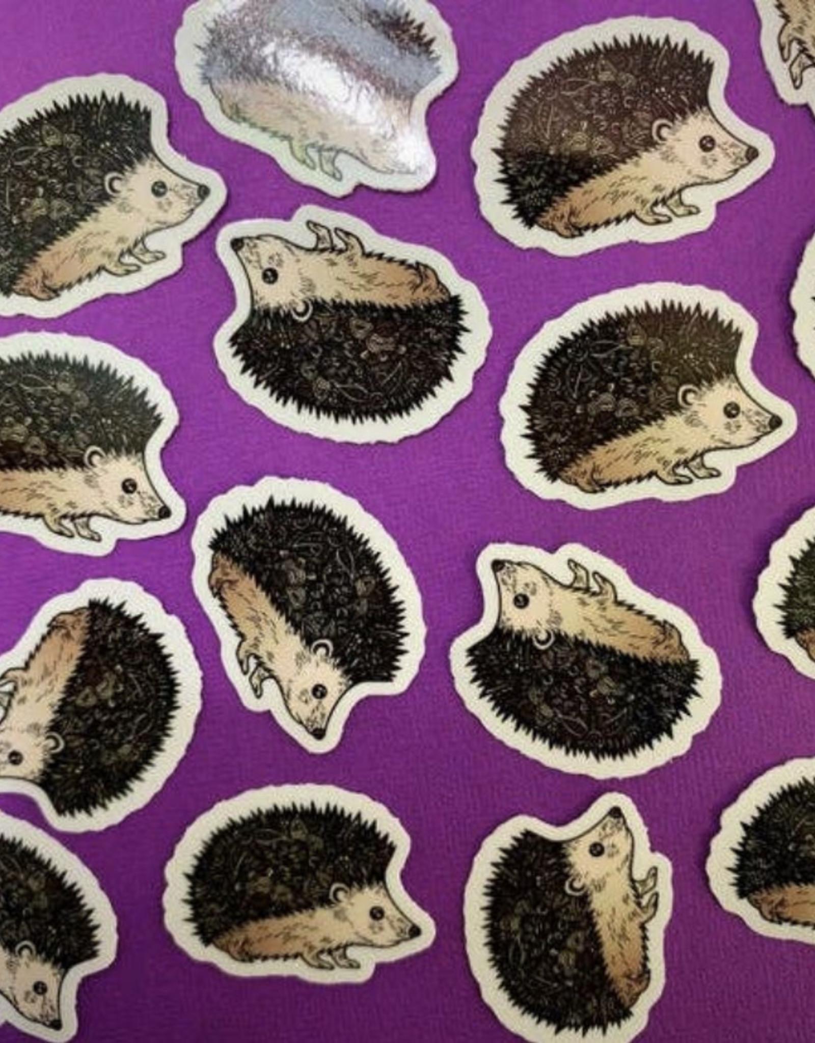 Mini hedgehog sticker (ms7)